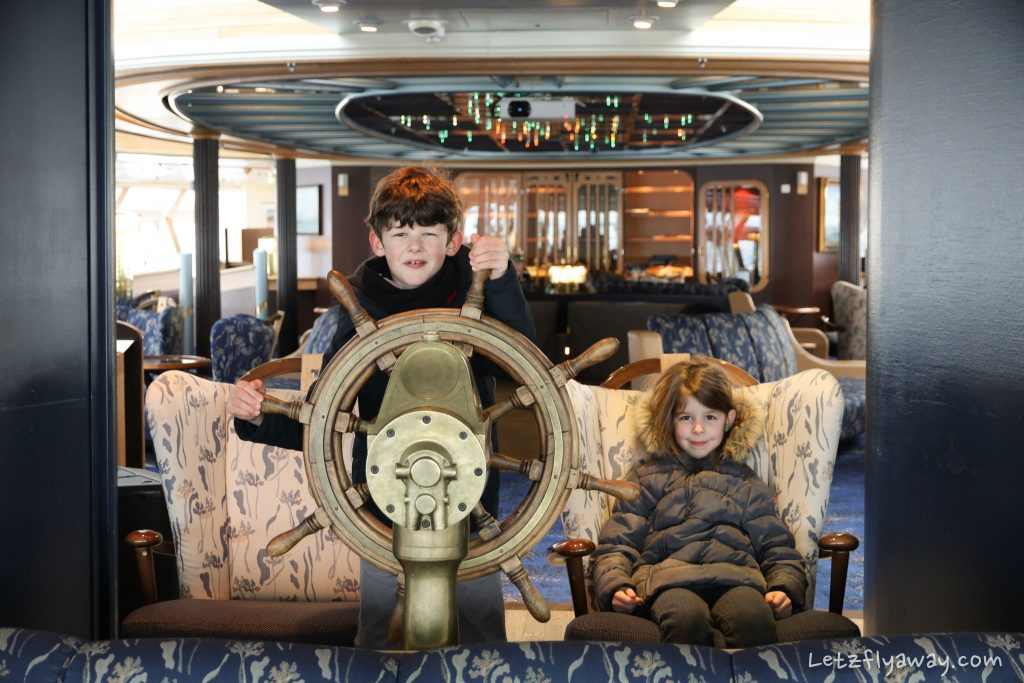 Children on Hurtigruten