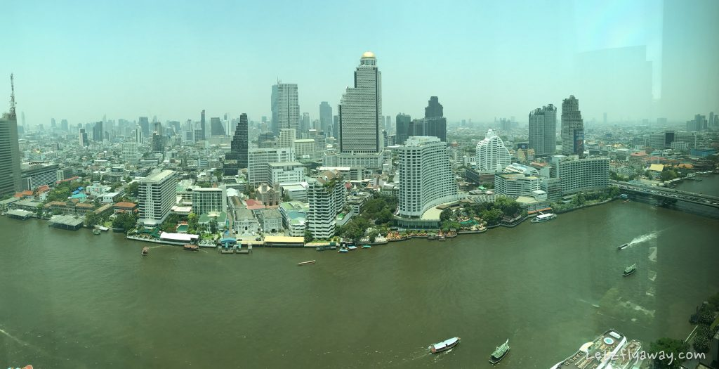 Peninsula Bangkok view 33 floor