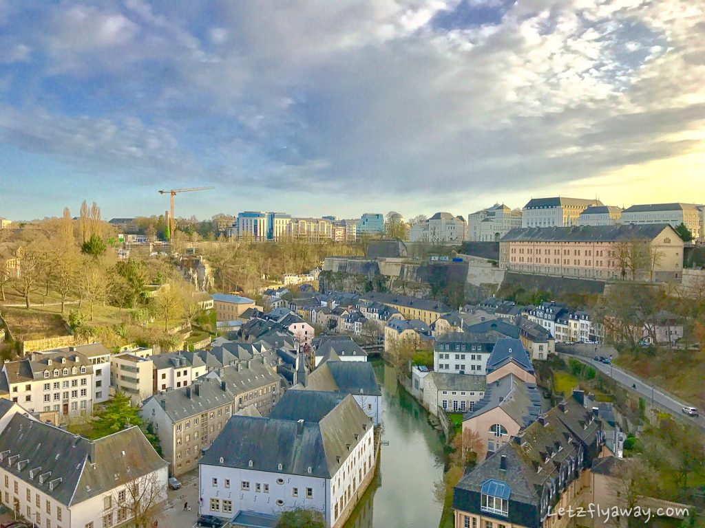 Luxembourg City by Segway panoramic view
