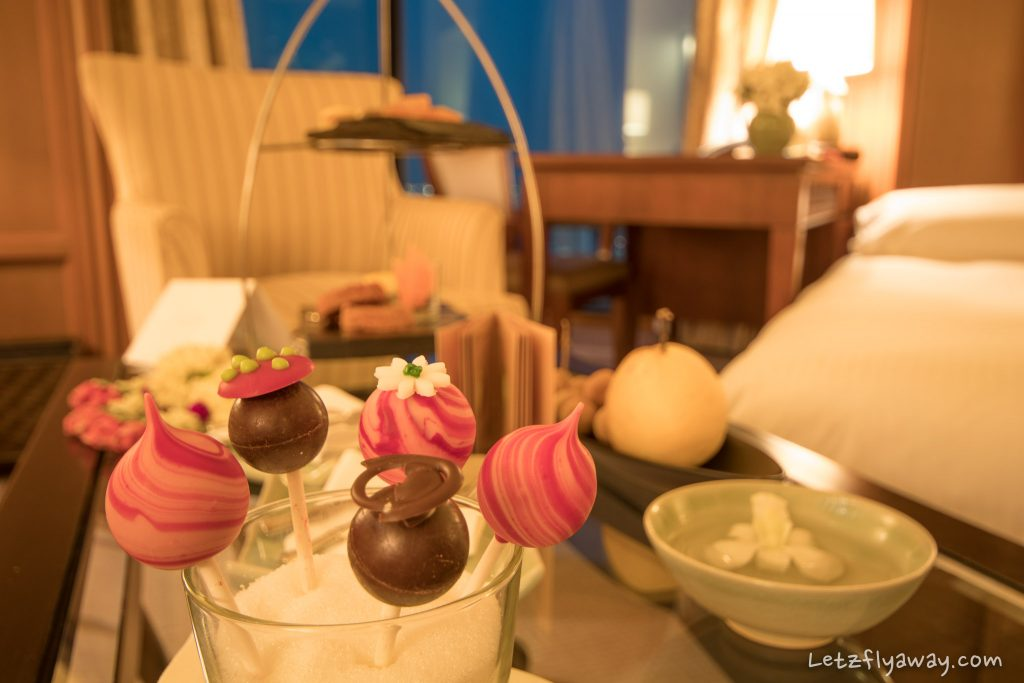 Peninsula Bangkok welcome treats