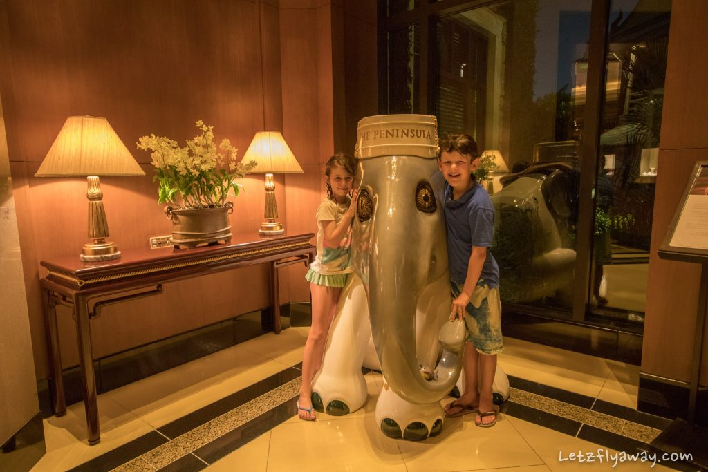 Peninsula Bangkok for kids