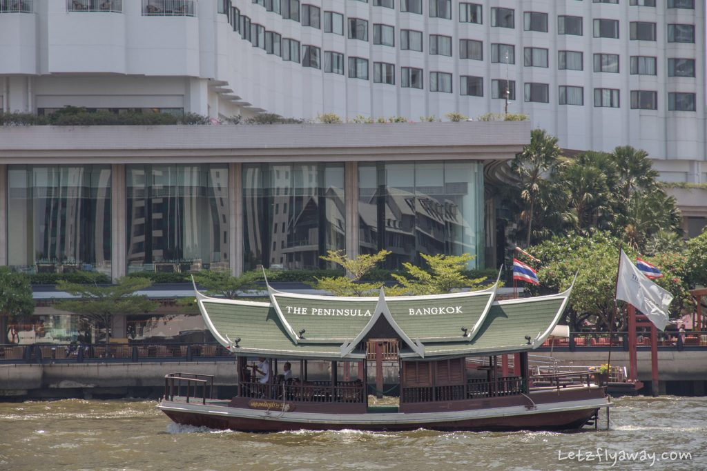 Peninsula Bangkok boat ride