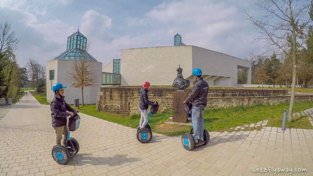 Luxembourg City by Segway