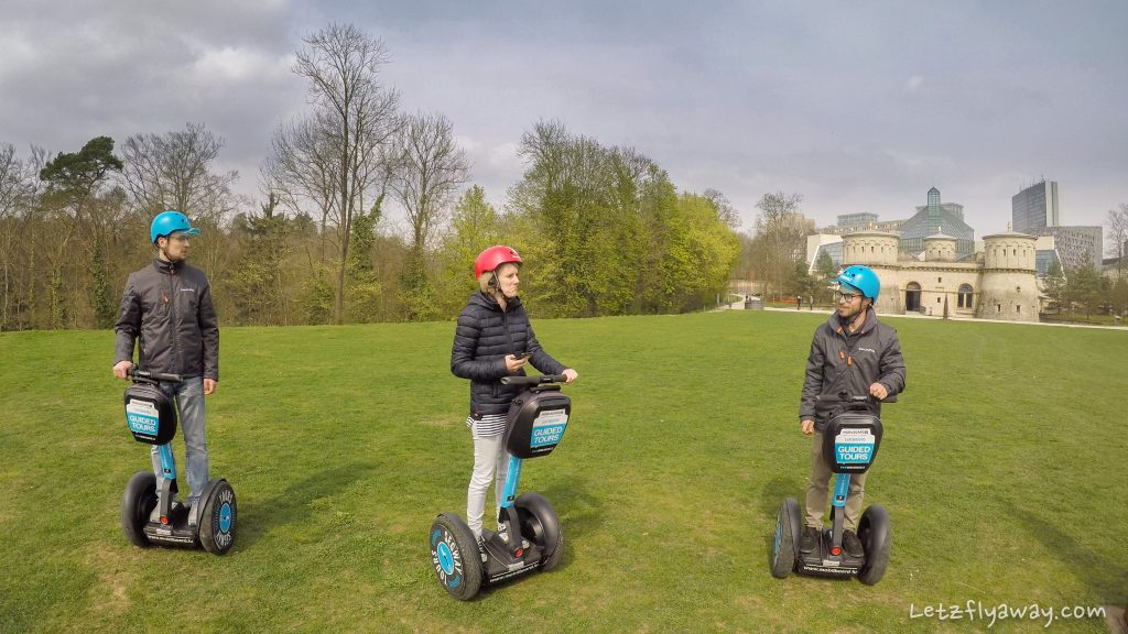 Luxembourg City by Segway Kirchberg