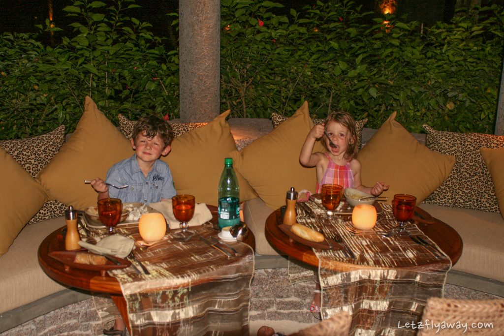 Constance Ephelia Resort kids food