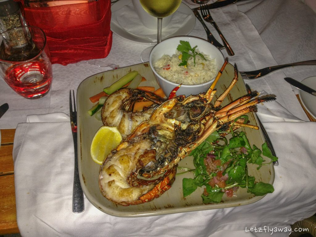 Constance Ephelia Resort lobster