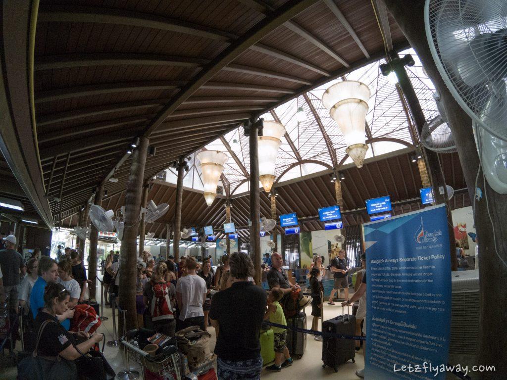 koh samui airport check in Bangkok Airways Review