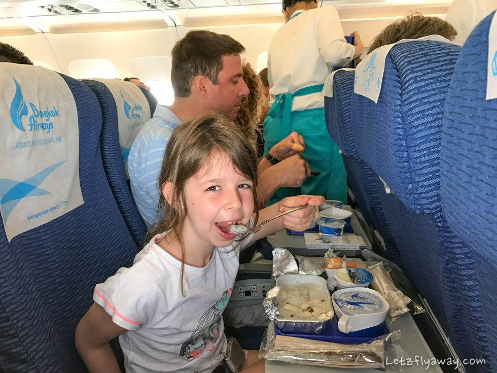Bangkok Airways Review inflight service