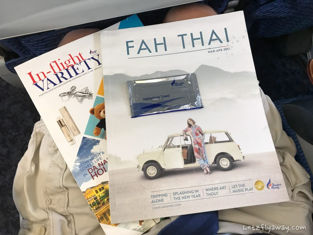 Bangkok Airways Review fah thai magazine