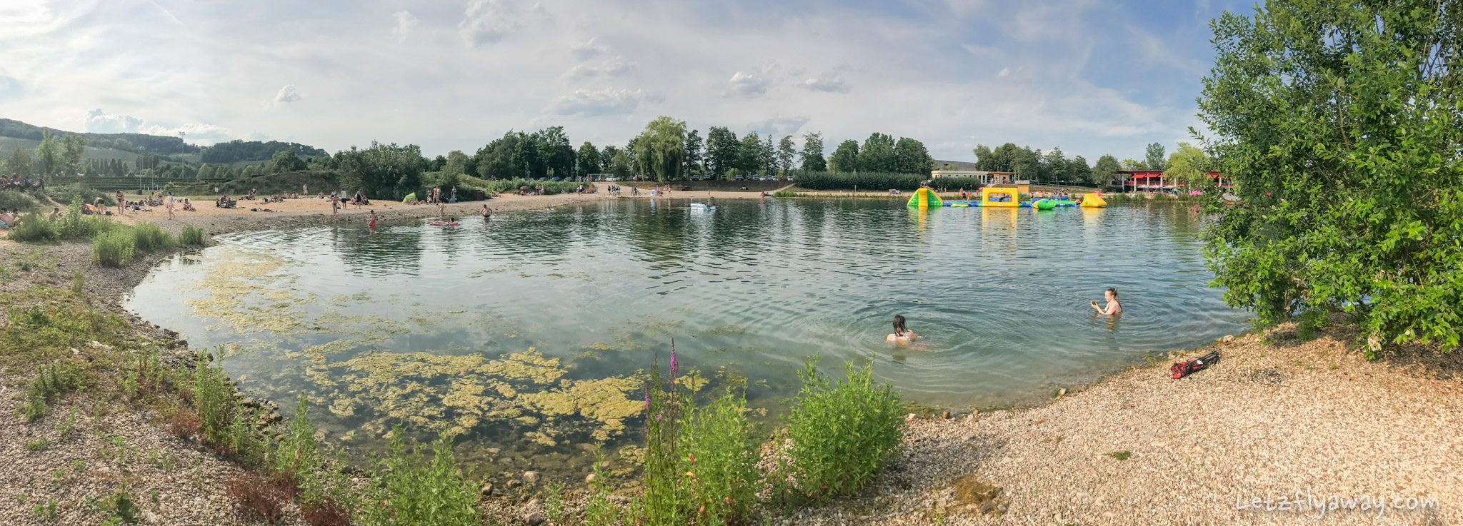 Kids Swimming In A Lake the remerschen lakes - outdoor swimming in luxembourg with kids |