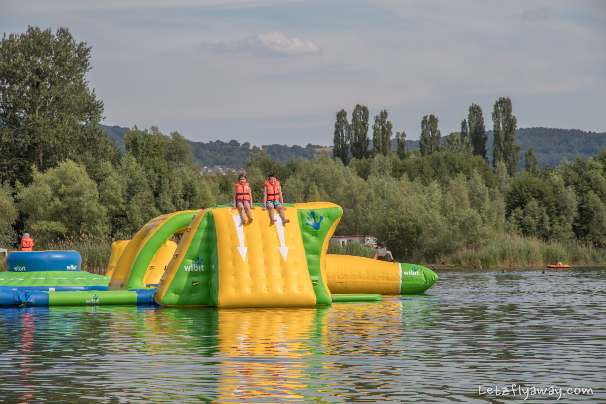 The Remerschen Lakes Outdoor Swimming In Luxembourg With