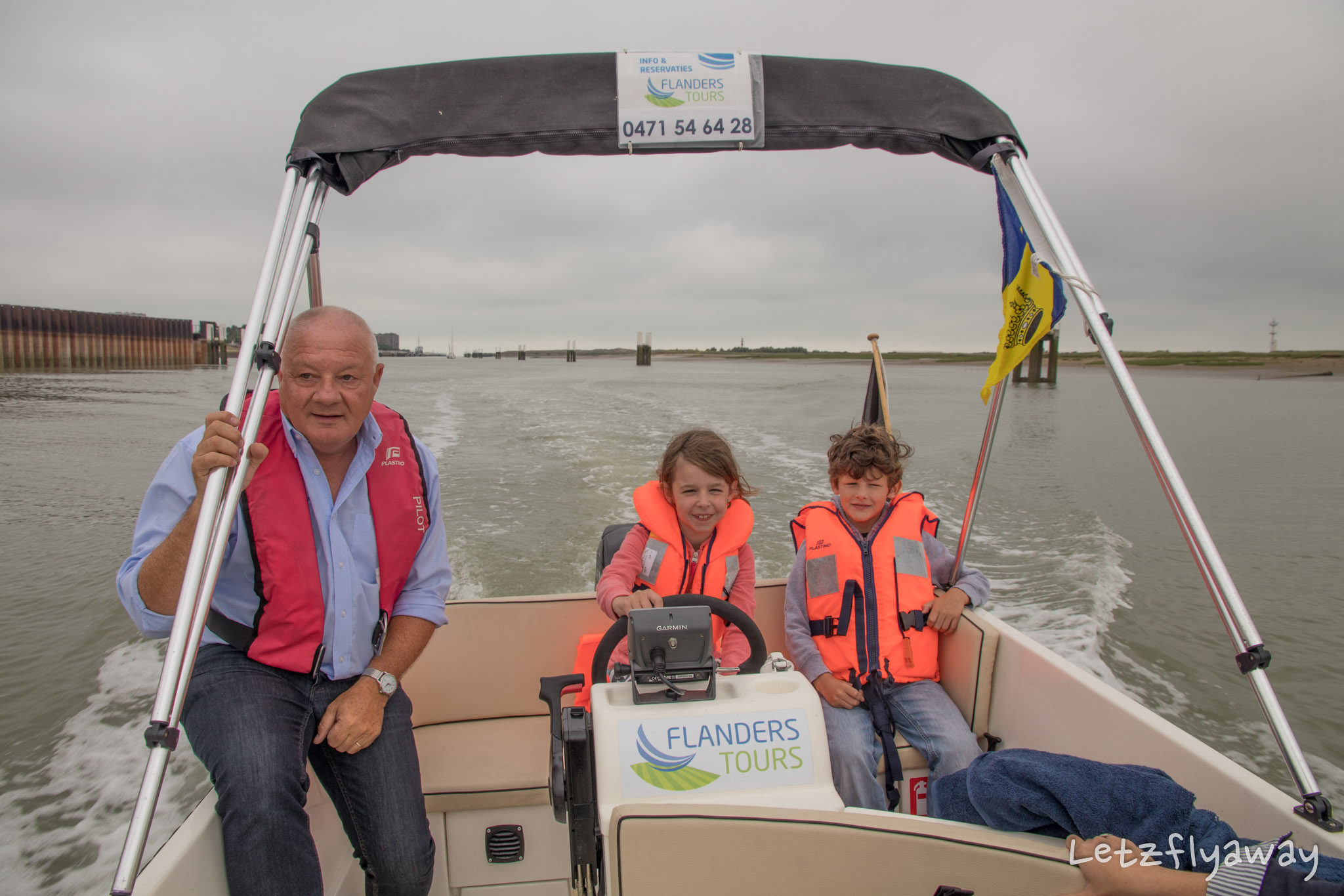 Flanders Tours Boat Tour Nieuwpoort