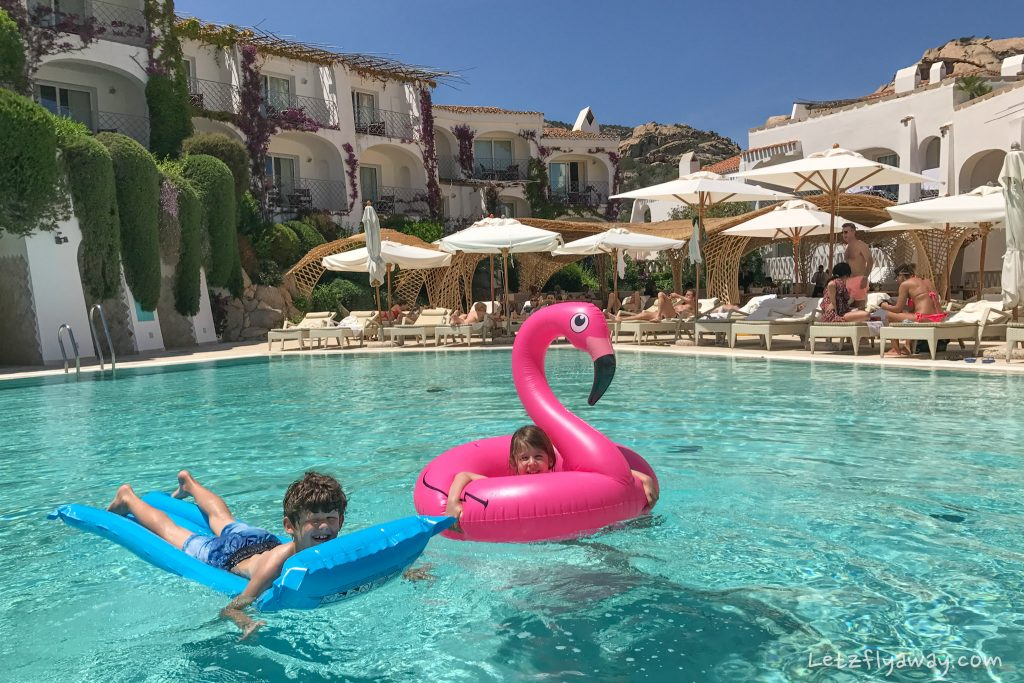 Grand Hotel Poltu Quatu pool fun