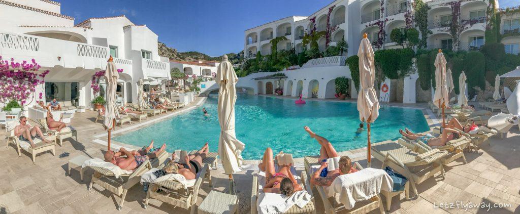 Grand Hotel Poltu Quatu pool