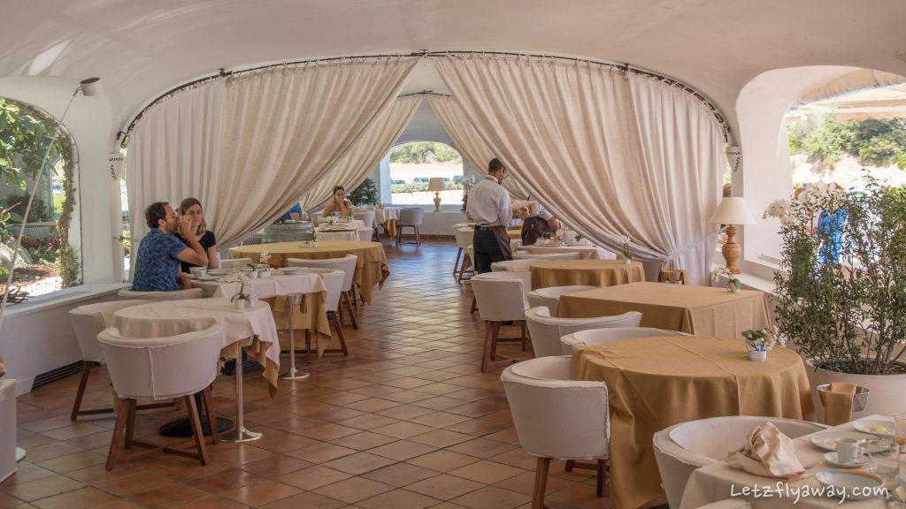 Grand Hotel Poltu Quatu restaurant