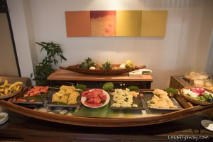breakfast at Anantara Bophut Koh Samui Resort