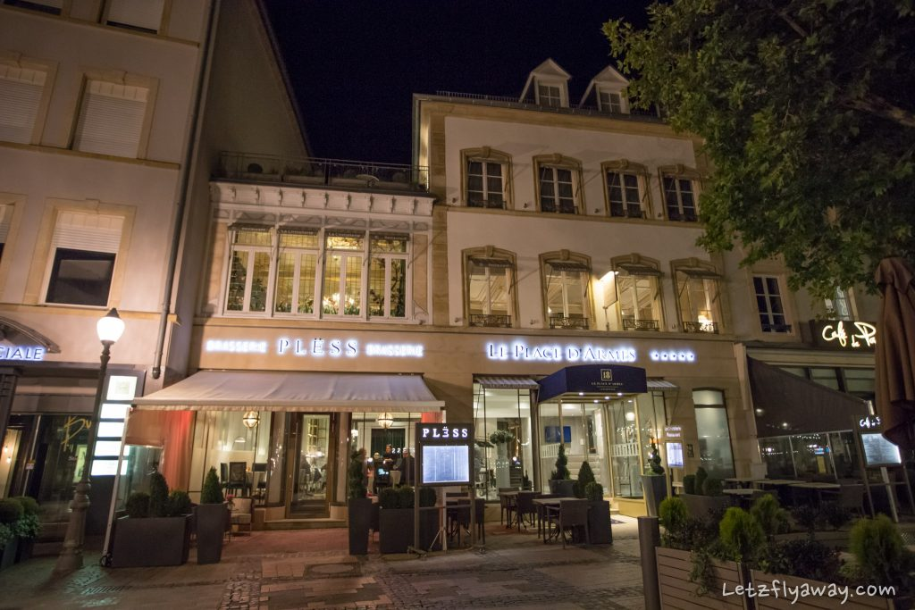 Le Pless Luxembourg Ville
