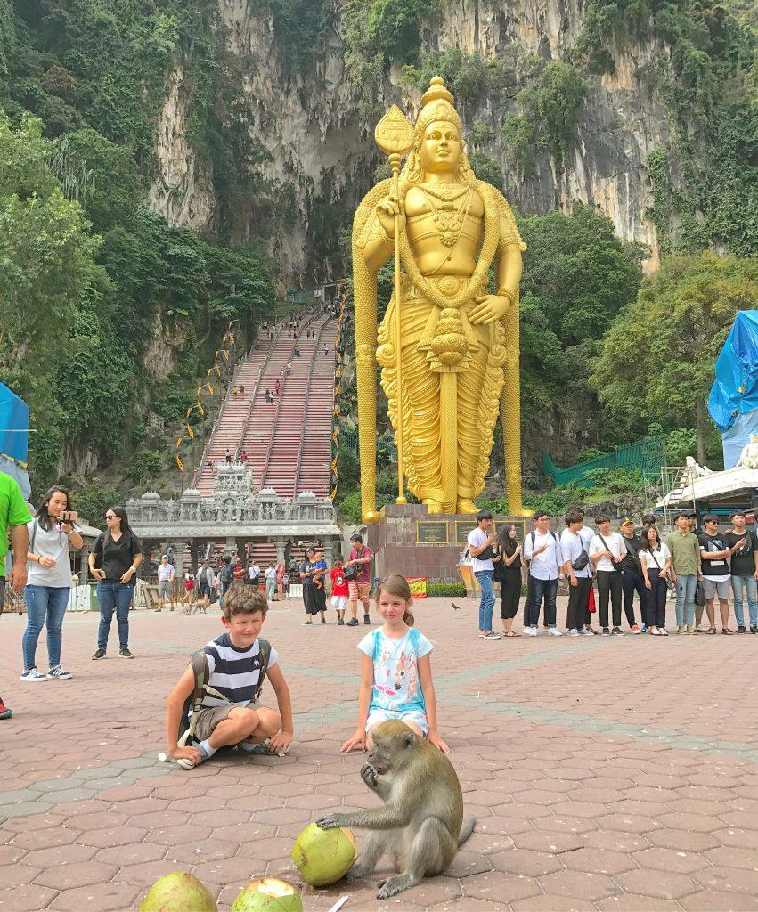 Kuala Lumpur with Kids Batu caves