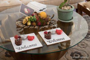 Sofitel Angkor welcome treats