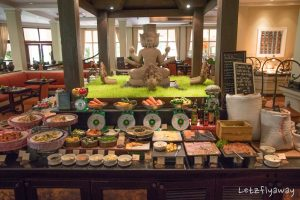 Sofitel Angkor breakfast buffet