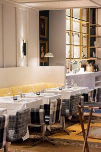 Pless Restaurant design by Tristan Auer