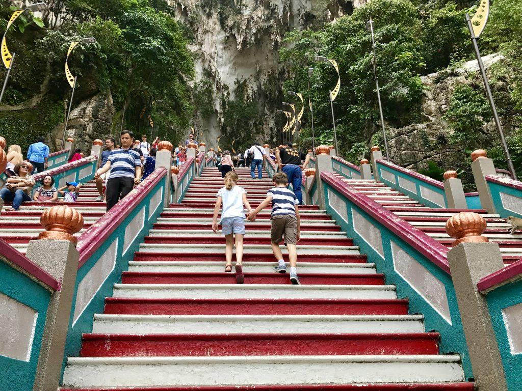 baru caves stairs