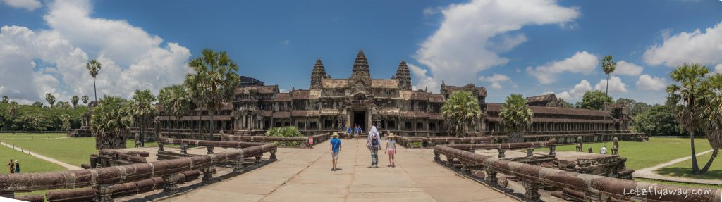Visiting Angkor Wat with Kids