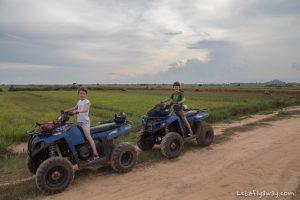 Siem Reap Quad Bike Adventure with Kids