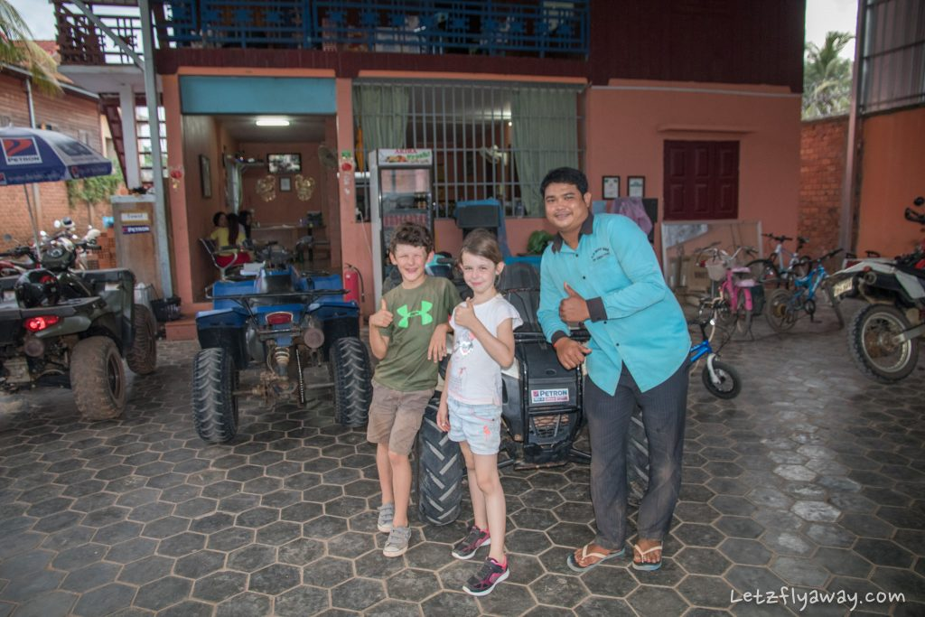 Siem Reap Quad Bike Adventure with Kids