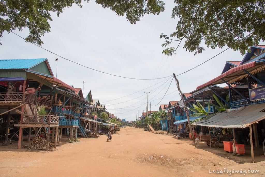street in kampong phluk