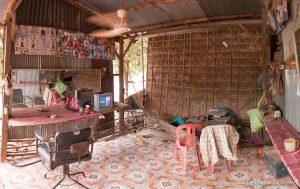 Cambodian hair salon
