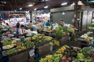 Siem reap old market