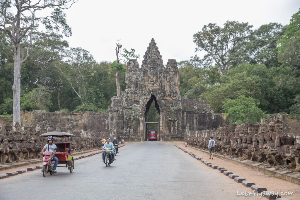 Angkor South gate