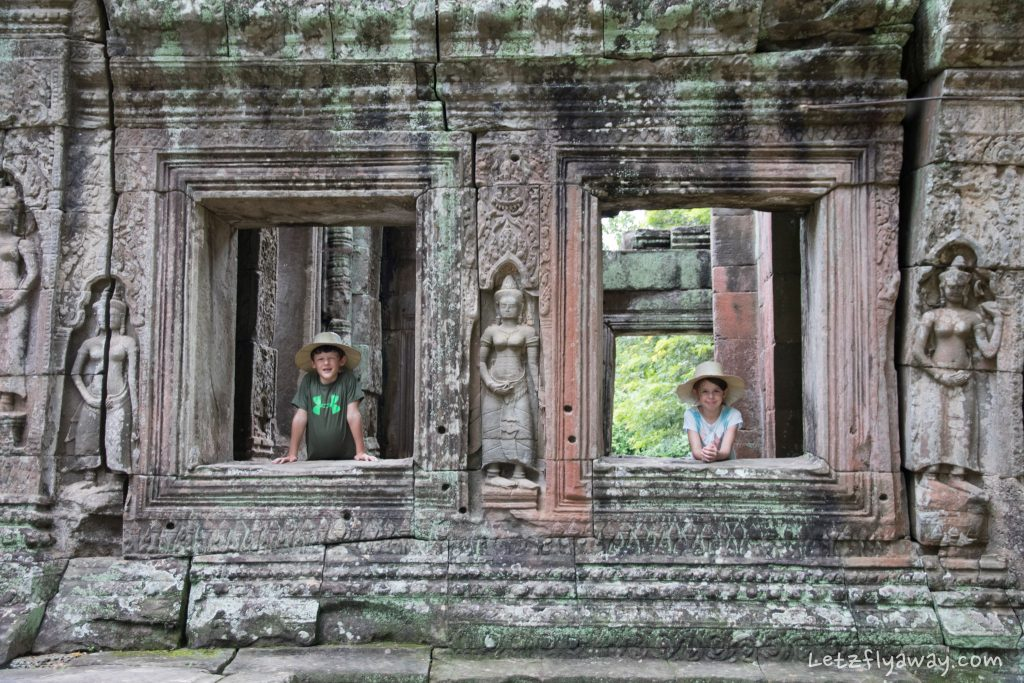 Siem Reap temples with Kids