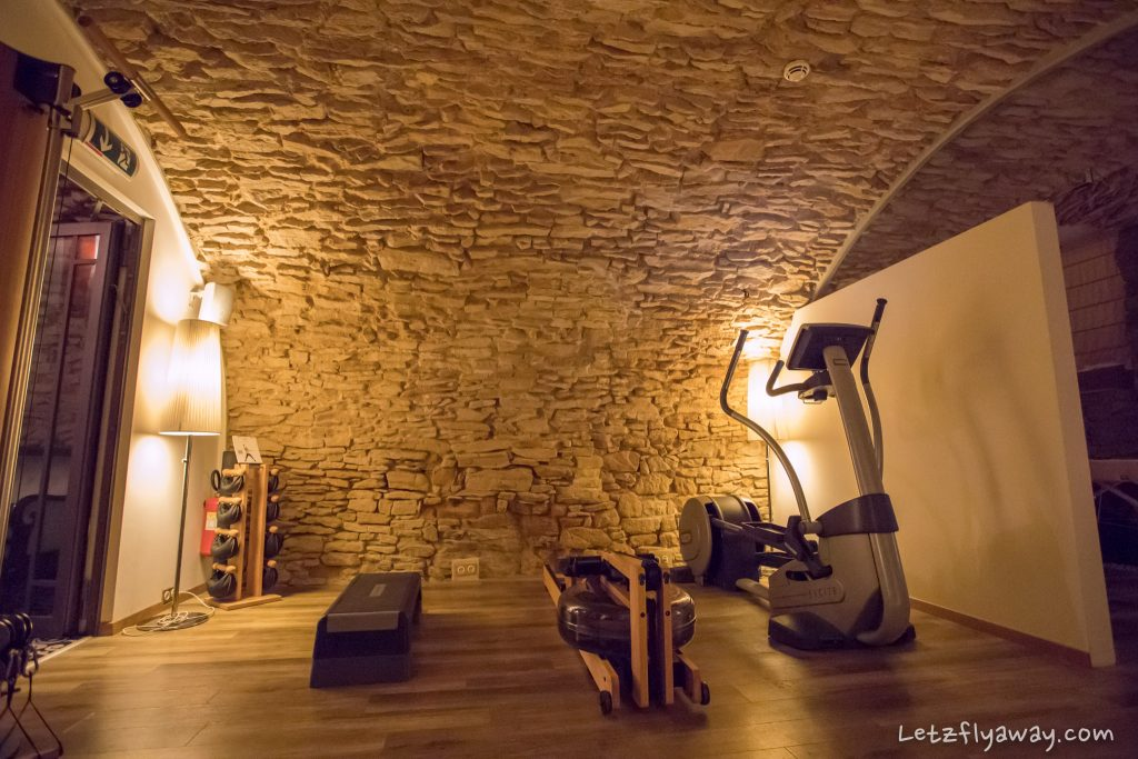 Hotel Le Place d'Armes Luxembourg fitness