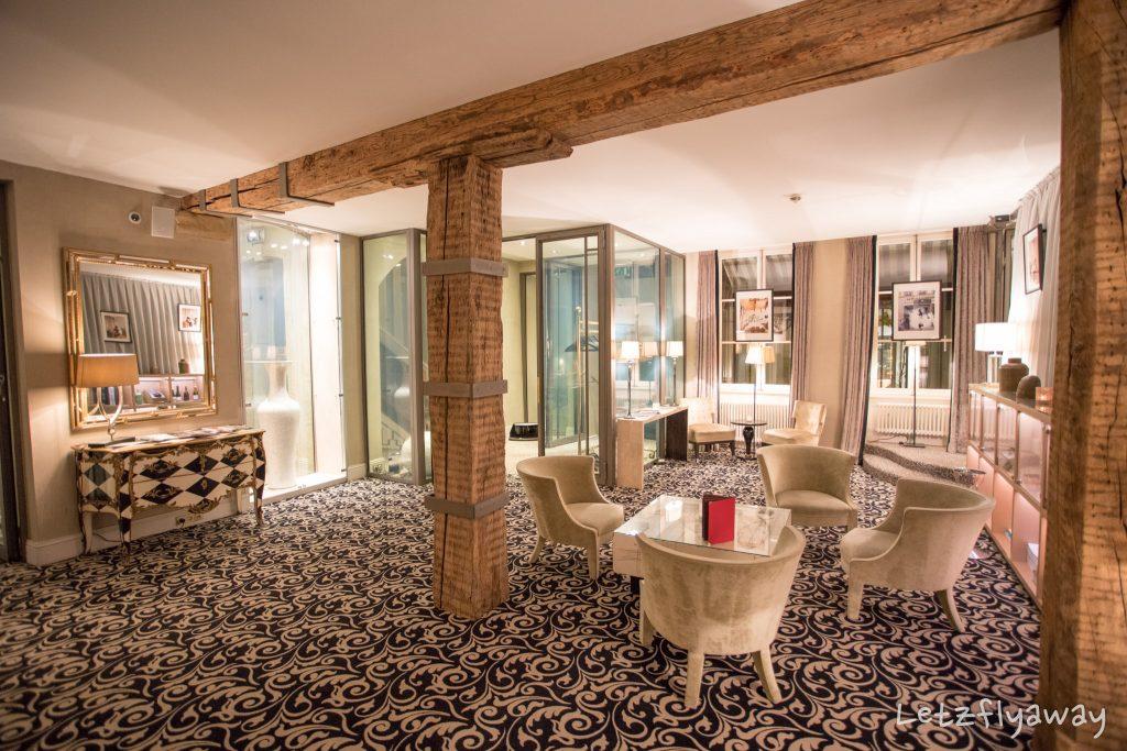 Hotel Le Place d'Armes Luxembourg salon