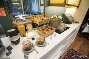 Hotel Le Place d'Armes Luxembourg breakfast buffet
