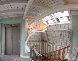 Hotel Le Place d'Armes Luxembourg staircase