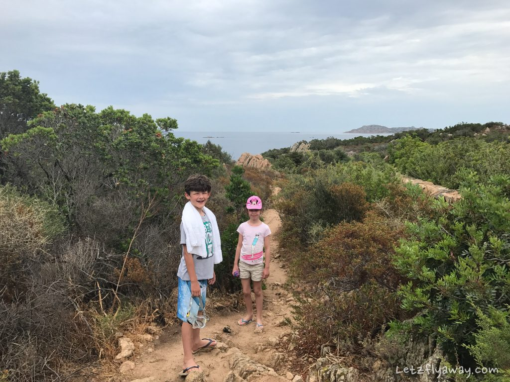 hike to the beach