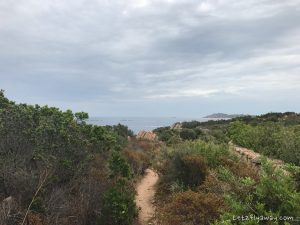 sardinia hike to the beach