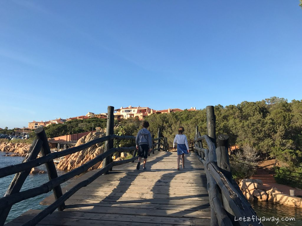 porto cervo with kids