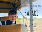 Safari with kids