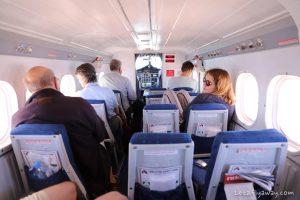 Air Kenya twin otter cabin
