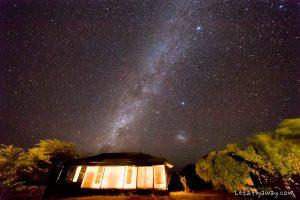 Kempinski Olare Mara tent by night