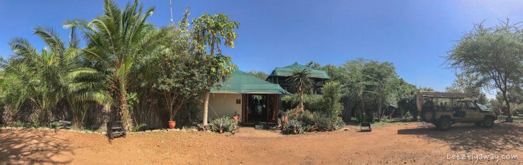 Kempinski Olare Mara hotel entry