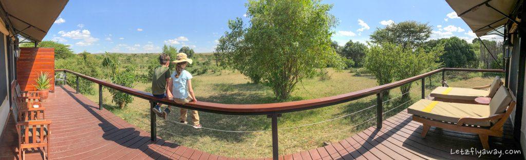 Kempinski Olare Mara sun deck