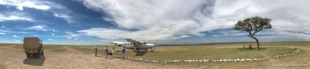 Kempinski Olare Mara air strip
