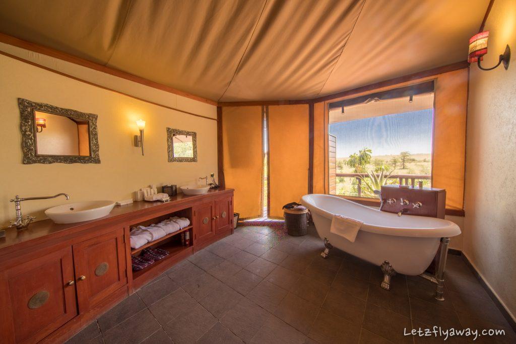 Kempinski Olare Mara bathroom