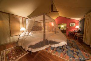 Kempinski Olare Mara family tent