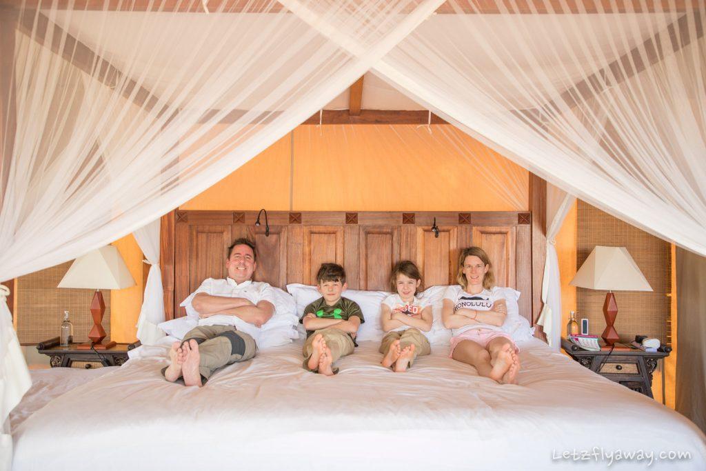 Kempinksi Olare Mara family tent